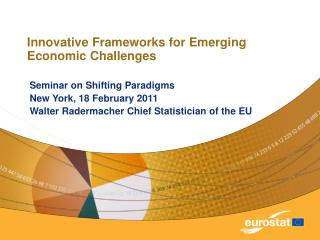 Innovative Frameworks for Emerging Economic Challenges