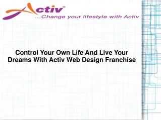 Activ Web Design Franchise