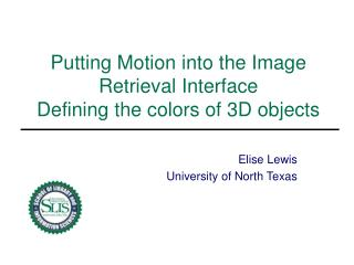 Putting Motion into the Image Retrieval Interface Defining the ...