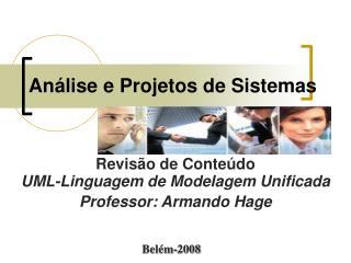 An lise e Projetos de Sistemas