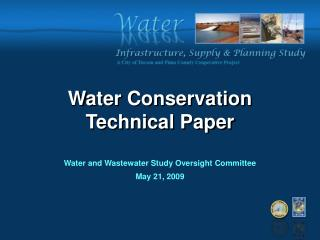 Water Conservation  Technical Paper