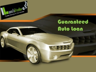 Guaranteed Car Finance Dealers For New And Used Cars