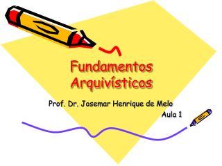 Fundamentos Arquiv