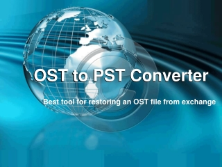 Restoring an OST File From Exchange