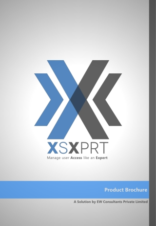 XsXprt Brochure