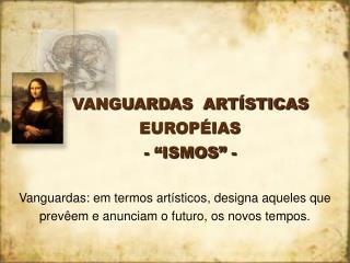 VANGUARDAS ART