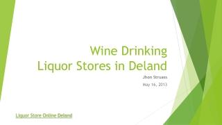 Liquor store online deland
