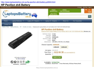 How to Clean an HP Pavilion DV6 Battery?