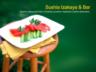 Sushi Japanese Food Restaurant Sydney CBD, Perth