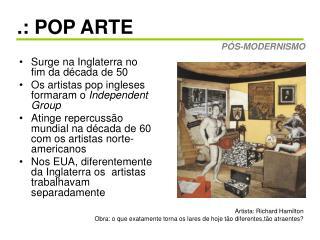 POP ARTE