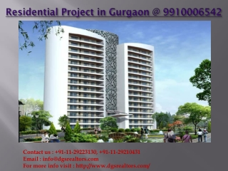 Residential Project in Gurgaon