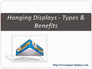 Hanging Displays -Types & Benefits