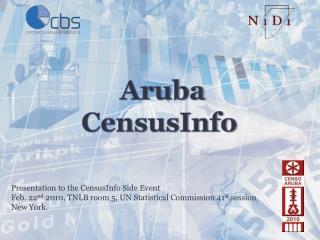 CensusInfo Aruba