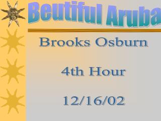 Beutiful Aruba