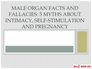 Male Organ Facts and Fallacies