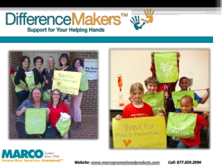 MARCOPromotionalProducts-Difference Makers