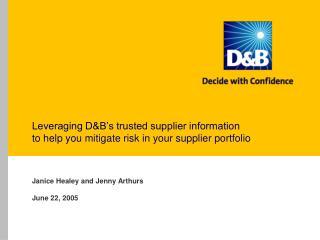 Leveraging DB