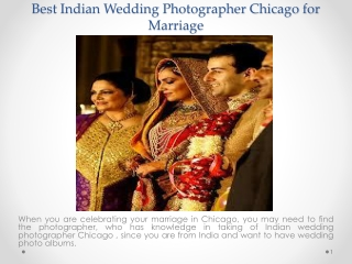 Best Indian Wedding Photographer Chicago for Marriage