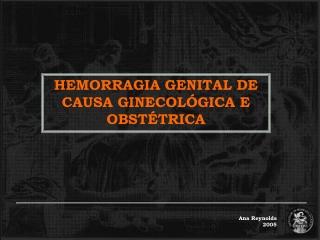 Hemorragia genital