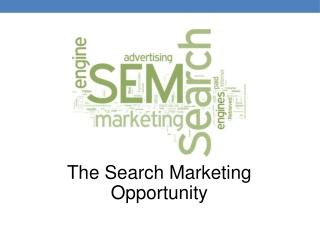 Search Marketing Presentation - ConSept Colorado Springs