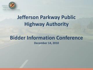 Jefferson Parkway Public Highway Authority Bidder Information ...