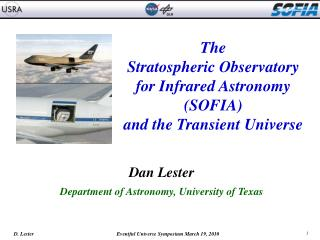 The  Stratospheric Observatory  for Infrared Astronomy  SOFIA  and the Transient Universe