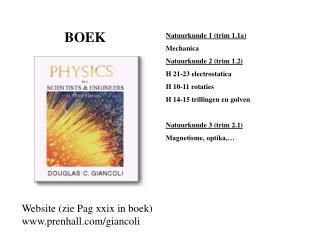 Natuurkunde berekeningen