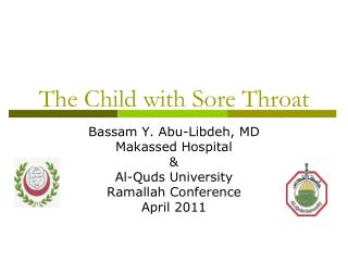 The Child with Sore Throat