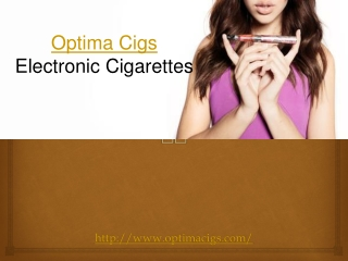 Optima Cigs Electronic Cigarettes