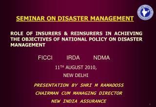 Insurance  Disaster Mitigation