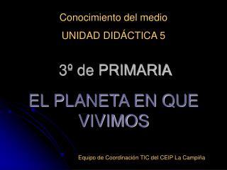 3  de PRIMARIA