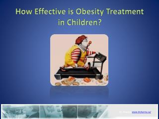 How Effective is Obesity Treatment in Children?