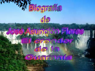 Tema: PANAMBI VERA de Jos  Asunci n Flores. Recopilaci n bibliogr fica: M sica y M sicos del Paraguay del Dr. Juan Max B