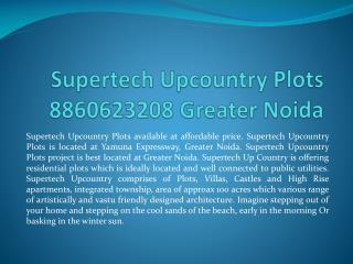 supertech upcountry plots|8860623208|supertech upcountry plo