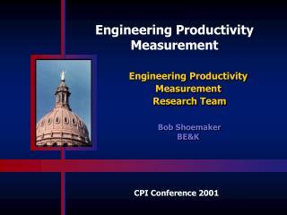 Engineering Productivity Measurement