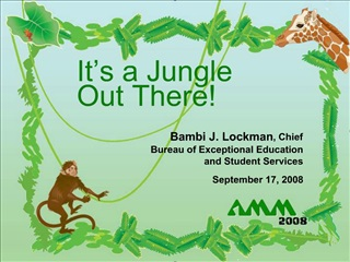 It s a Jungle  Out There