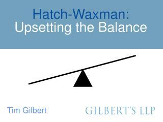 Tim Gilbert presentation - Orange Book Blog