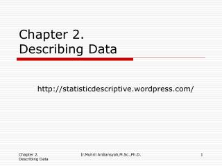 Chapter 2. Describing Data