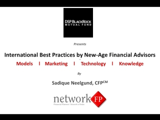 International Best Practices by New Age Financial Advisors