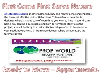 Best Options In 3c Lotus Boulevard ,Lotus Boulevard Noida,99