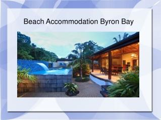 Beach Accommodation Byron Bay