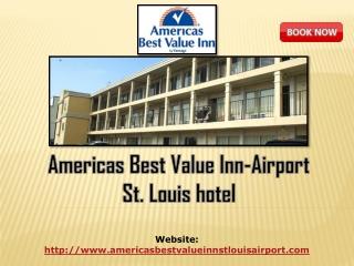 Americas Best Value Inn-Airport St. Louis hotel
