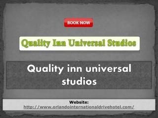 Quality inn universal studios