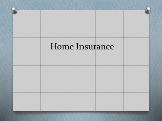 Home insurance quotes finder
