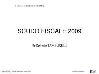SCUDO FISCALE 2009