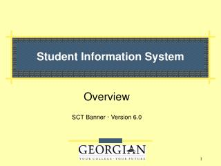 Student Information System