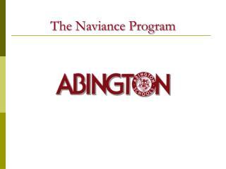 The Naviance Program