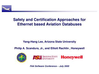 Safety and Certification Approaches for Ethernet based Aviation ...