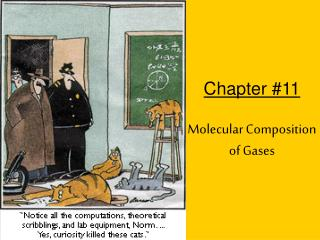 Chapter 11 Molecular Composition of Gases