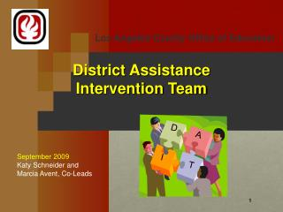 District Assistance Intervention Team